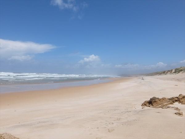 Океанские пляжи отличаются масштабом