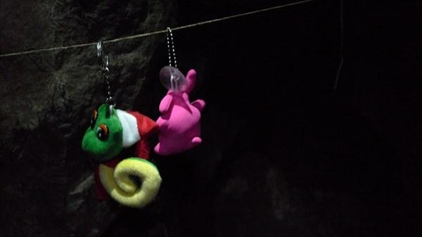 Зайка и Змейка идут по верёвке