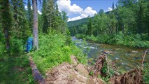 Река Малый Казыр