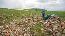 На перевале Караташский