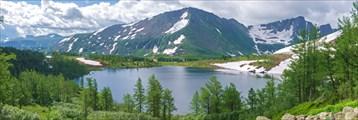 Панорама озера Круглое
