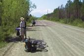 Фото 5. Так выглядела большая часть дороги от Баканов до Куморы.