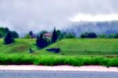 Деревня Ячменюха.