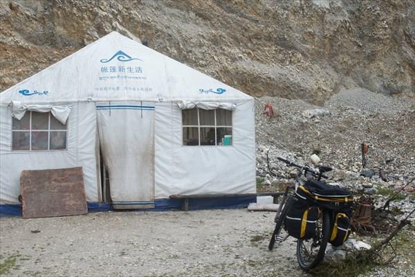 Тибецкая юрта на современный лад