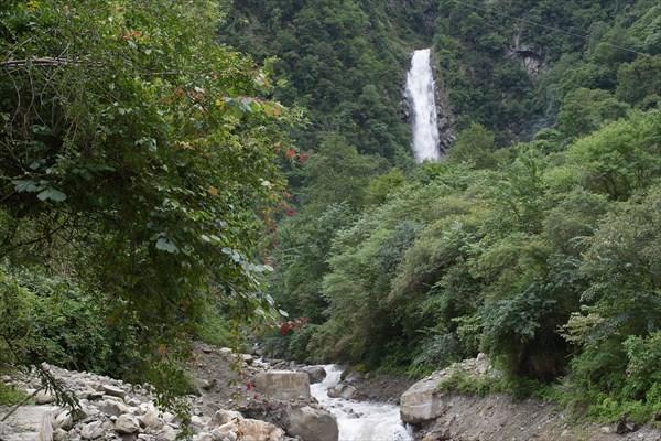 Красивые притоки с водопадами