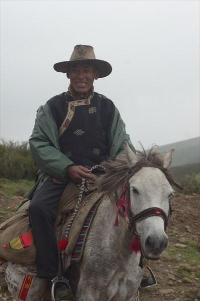 Типичный тибетский ковбой
