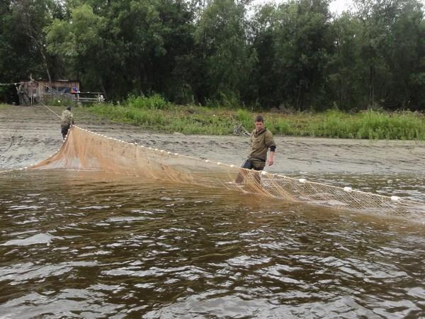 Рыбаки на Ляпине.