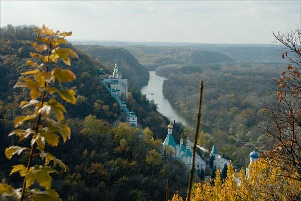 Река Северский Донец и Святогорская лавра