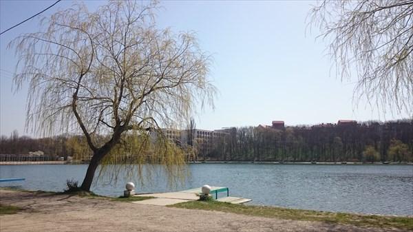Озеро санатория 30 летия Победы