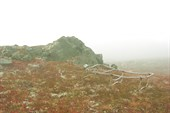 Раскладушка на горе Караульная