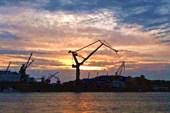 В порту Гетеборга