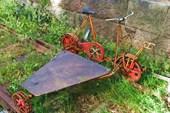 Велотепловоз на старой железной дороге (Ambjornarp)
