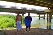 Горный Балыклей.Под мостом.