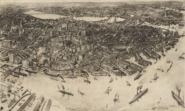Бостон, 1905 год