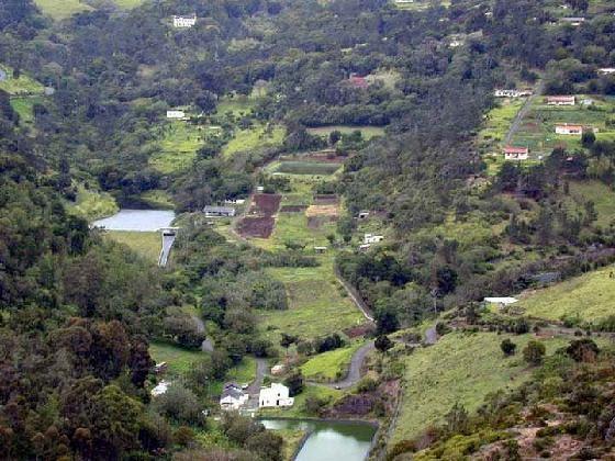 Панорама острова Св.Елены