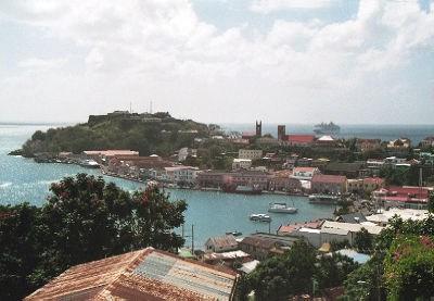 Столица Гренады - Сент-Джорджес