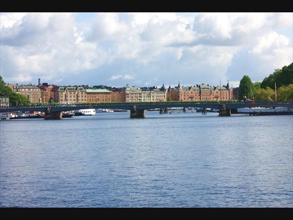 В центре Стокгольма