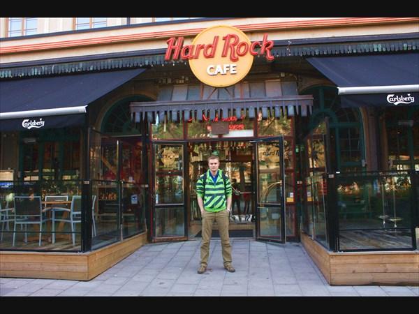 Hard Rock Cafe в Стокгольме