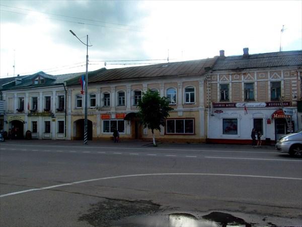 на фото: Центр Переславля-Залесского