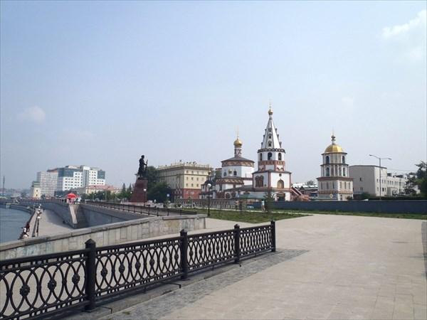 Иркутск. Собор богоявления.