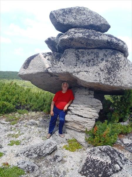 На плато Баргузинского хребта.