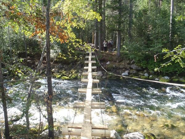 Мост через реку Большой Чивыркуй.