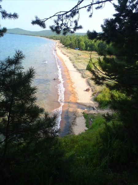 Бухта Кресты. Байкал. Чивыркуйский залив.