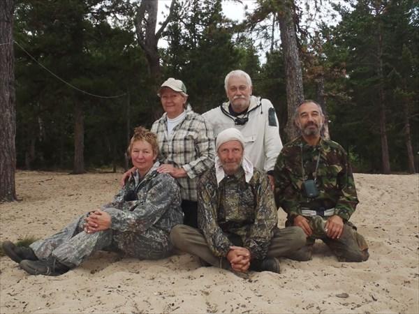 Участники похода.