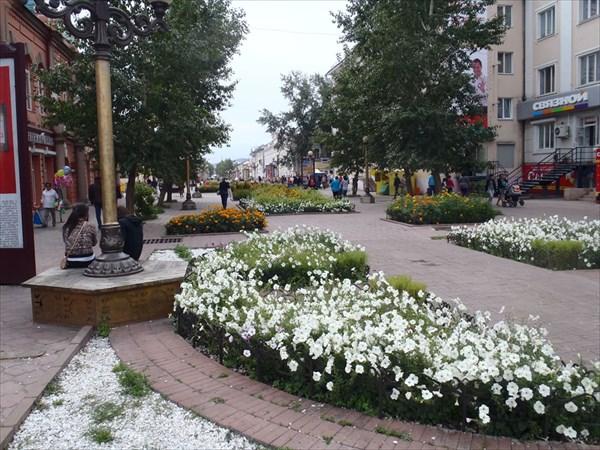 Улан-Удэ. Проспект Ленина.
