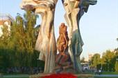 Скульптура Ангела-хранителя
