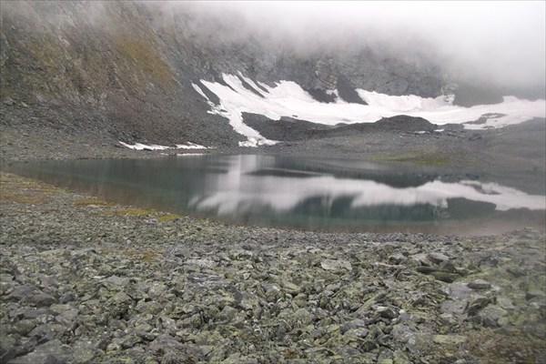 Озеро в цирке 1343