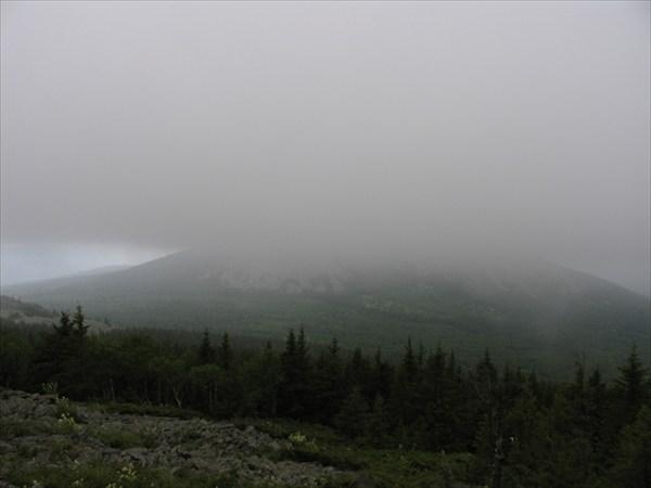 Нургуш в тумане