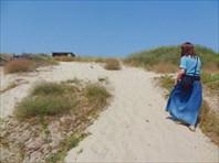 Долгая дорога в дюнах.
