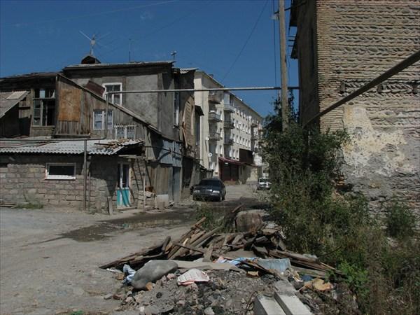 На улицах Цхинвала