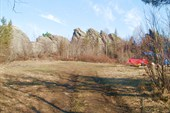 Главный гребень от входа на лагерную поляну