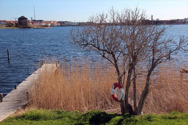Тишина и спокойствие в шведском городе Карлскруна