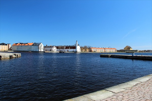 Шведский город на Балтийском море
