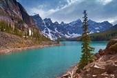 Озеро Moraine Lake