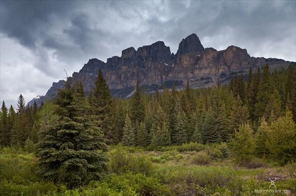 Гора Castle mountain