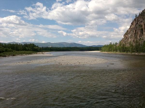 Красота реки Чара.