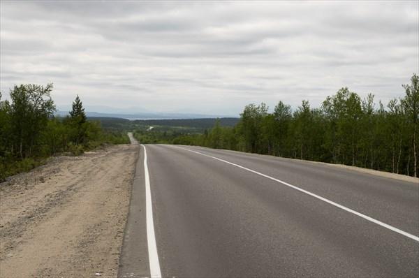 Дорога из оленегорска