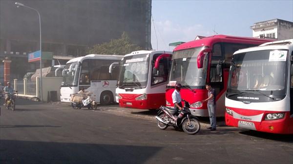 Такие вот автобусы.
