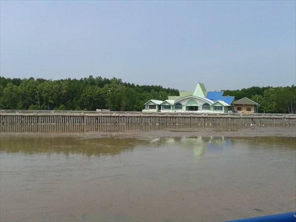 Вид на ресторан, на самой южной точке Вьетнама.
