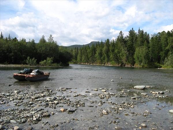 Б. Тыколлова в месте впадения Грубею