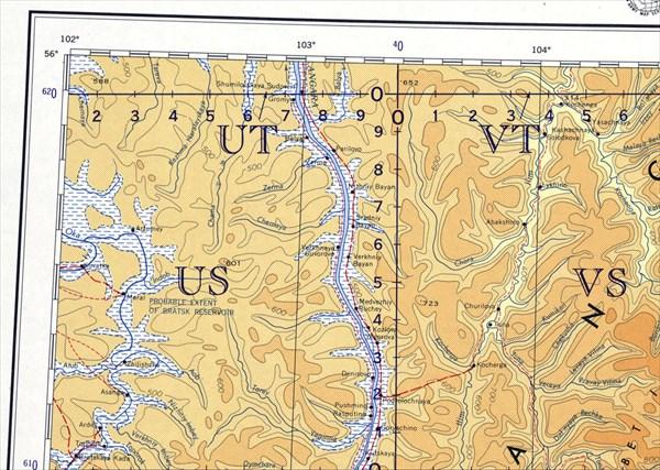 Старая карта 1