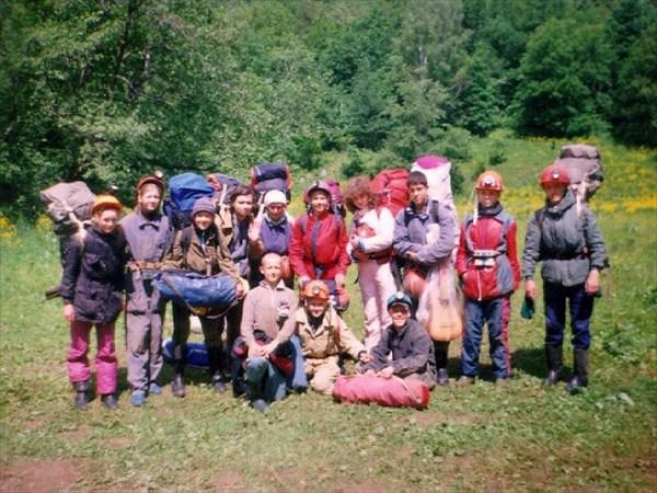 Лагерь снят