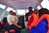 В катере по Телецкому озеру