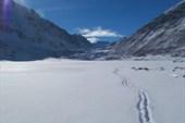 По озеру в долине реки Архат