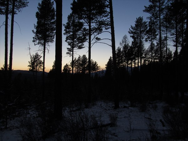 Последняя ночь в походе