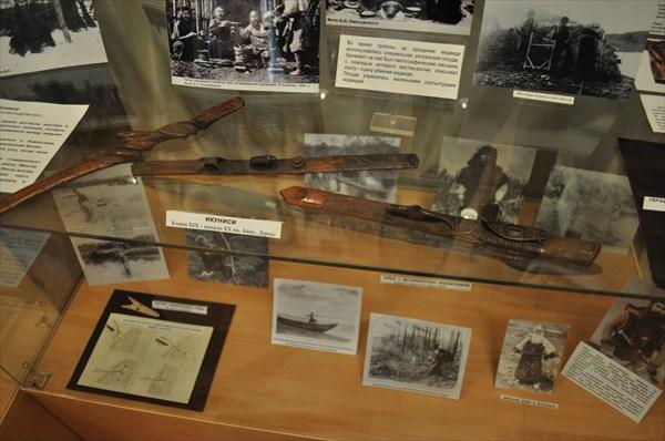 Экспонаты городского музея